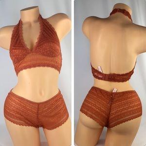 ✅🆕😍 Victoria's Secret lace bralette & panty set